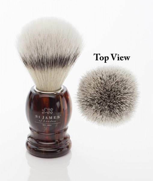 Synthetic Shaving Brush - Tortoise