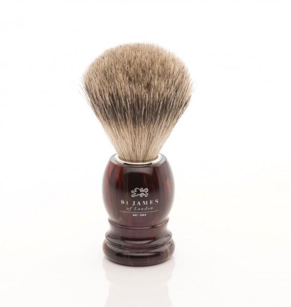Super Badger Shaving Brush - Tortoise