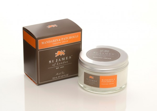 Mandarin & Patchouli Shaving Cream Jar